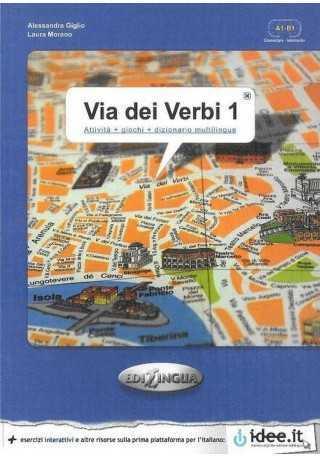 Via dei verbi 1 książka z kluczem odpowiedzi