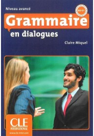 Grammaire en dialogues niveau avance ksiązka + CD audio
