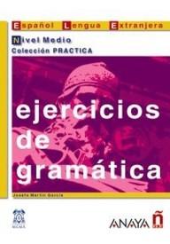 Ejercicios de gramatica nivel medio książka