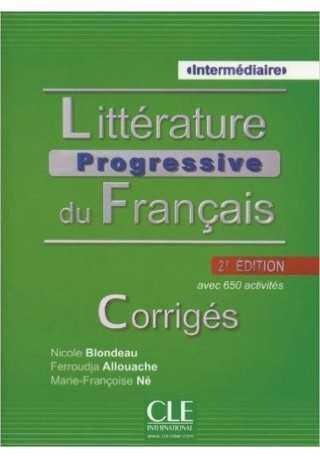 Litterature Progressive du Francais 2ed intermediaire klucz