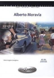 Alberto Moravia książka + CD audio