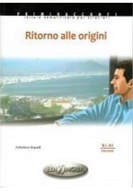 Ritorno alle origini książka + CD audio poziom B1-B2